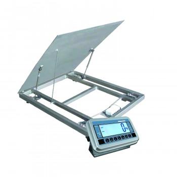 PLATEFORME AU SOL RELEVABLE INOX GPWL 800x800 - 600KG